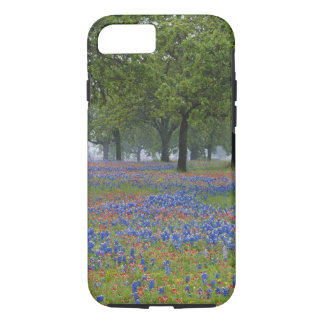 Coque iPhone 7 Pays de colline du Texas, le Texas, pinceau du
