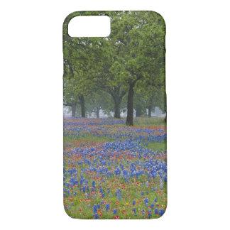 Coque iPhone 7 Pays de colline du Texas, le Texas, pinceau du