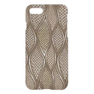 Coque iPhone 7 Peau de serpent stylisée
