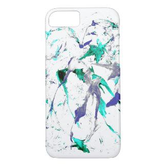 Coque iPhone 7 Peignez le cas de l'iPhone 7 d'éclaboussure