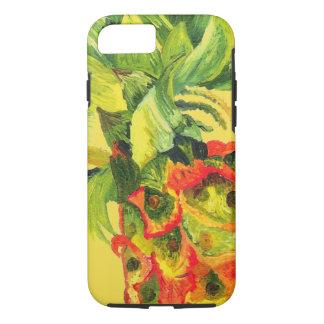 Coque iPhone 7 Peinture d'ananas (art de K.Turnbull)