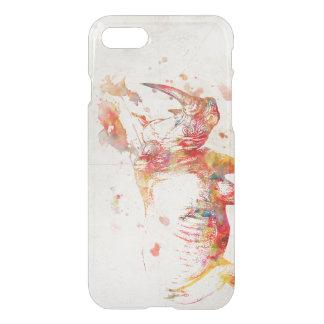 Coque iPhone 7 Peinture de rhinocéros d'aquarelle