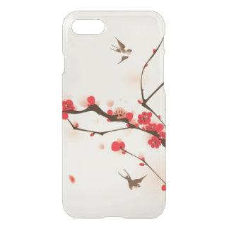 Coque iPhone 7 Peinture orientale de style, fleur au printemps 3