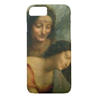 Coque iPhone 7 Petit groupe de la Vierge et de St Anne de la
