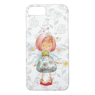Coque iPhone 7 Petite fille féerique Embarrassed avec l'arrière -