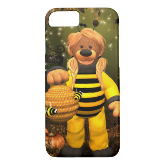 Coque iPhone 7 Petits ours : Petite abeille