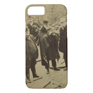 Coque iPhone 7 Philip Webb (1831-1915) pendant la construction de