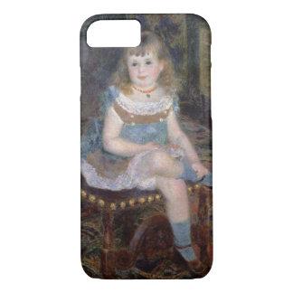 Coque iPhone 7 Pierre un portrait de Renoir   de Mlle. G.