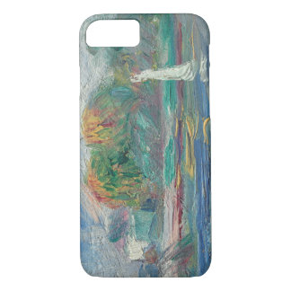 Coque iPhone 7 Pierre un Renoir   la rivière bleue