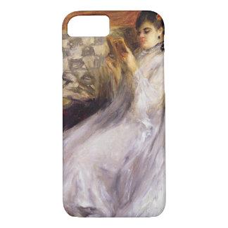 Coque iPhone 7 Pierre une lecture de jeune femme de Renoir  