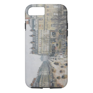 Coque iPhone 7 Place du Theatre Francais, Paris : Pluie, 1898