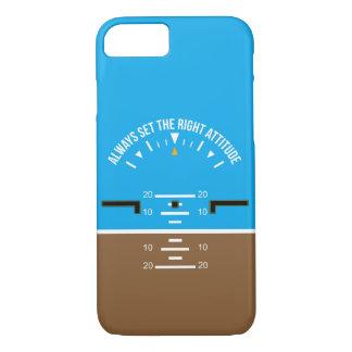 Coque iPhone 7 Placez toujours la bonne ATTITUDE