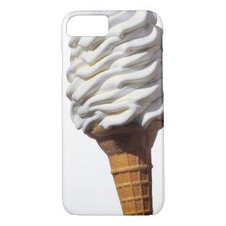 Coque iPhone 7 Plan rapproché de crème glacée