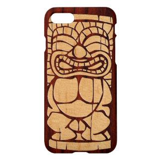 Coque iPhone 7 Planche de surf en bois de Koa Tiki Ailani