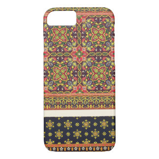 Coque iPhone 7 Plat de conception pour des tapis, 'des arts