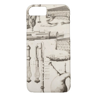 Coque iPhone 7 Plat VI : Instruments de vent de l'encyclopédie o