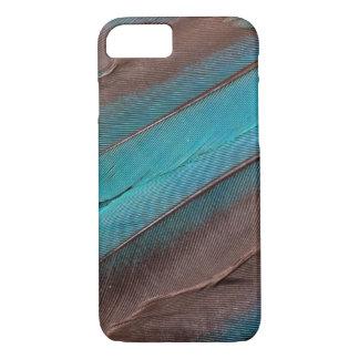 Coque iPhone 7 Plumes d'aile de martin-pêcheur