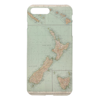 Coque iPhone 7 Plus 169 Nouvelle Zélande, Hawaï, Tasmanie