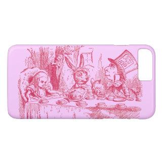 Coque iPhone 7 Plus Alice vintage au pays des merveilles