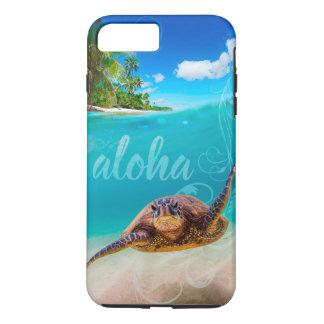 Coque iPhone 7 Plus Aloha cas plus de l'iPhone 7 de tortue de mer