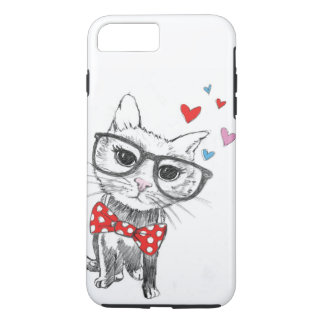 COQUE iPhone 7 PLUS AMOUR DE KITTY