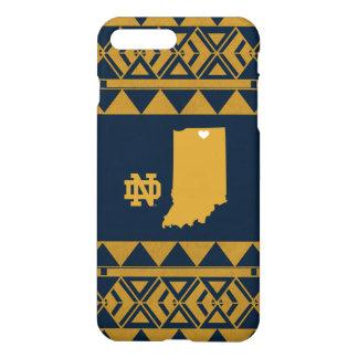 Coque iPhone 7 Plus Amour tribal d'état de Notre Dame |