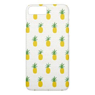 Coque iPhone 7 Plus Ananas tropicaux d'or