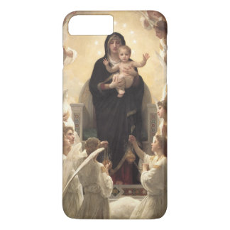 Coque iPhone 7 Plus Anges victoriens, Regina Angelorum par Bouguereau