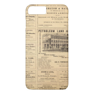 Coque iPhone 7 Plus Annonces de pétrole de New York et de la