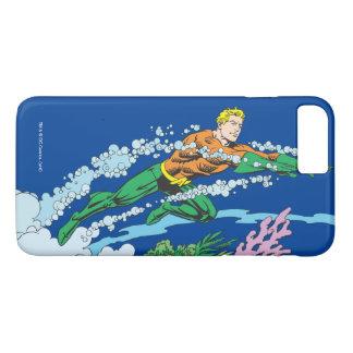 Coque iPhone 7 Plus Aquaman saute le corail