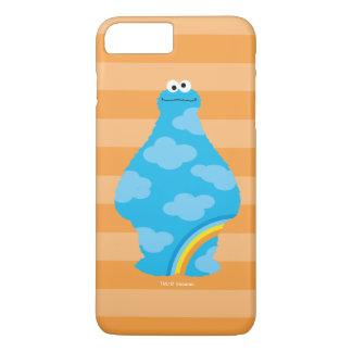 Coque iPhone 7 Plus Arcs-en-ciel de monstre de biscuit