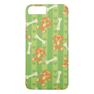 Coque iPhone 7 Plus arrière - plan avec des chiens et des os