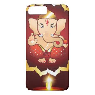 Coque iPhone 7 Plus Arrière - plan de festival de Diwali
