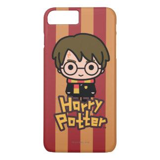 Coque iPhone 7 Plus Art de personnage de dessin animé de Harry Potter