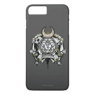 Coque iPhone 7 Plus Art de tatouage de symboles d'enchanteresse du