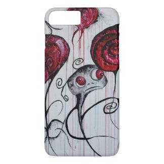 Coque iPhone 7 Plus Art lunatique d'horreur de Goth de créature