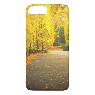 Coque iPhone 7 Plus Automne en parc à Danzig, Pologne
