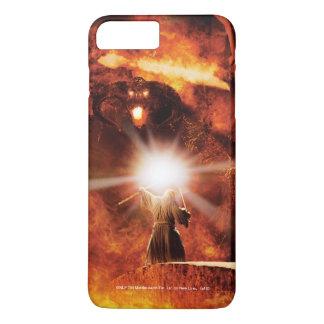 Coque iPhone 7 Plus Balrog contre Gandalf