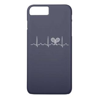 Coque iPhone 7 Plus Battement de coeur de tennis