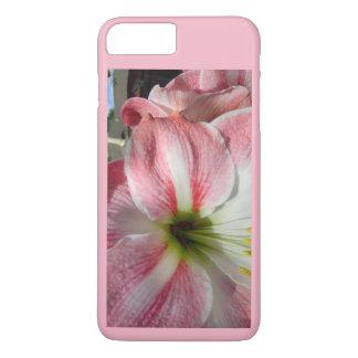 Coque iPhone 7 Plus Belle fleur de fleur d'amaryllis
