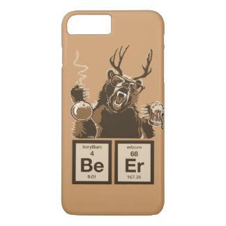 Coque iPhone 7 Plus Bière découverte par ours de chimie