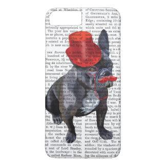 Coque iPhone 7 Plus Bouledogue français avec le casquette et la