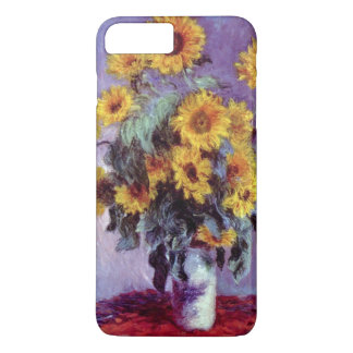 Coque iPhone 7 Plus Bouquet des tournesols par Claude Monet, art