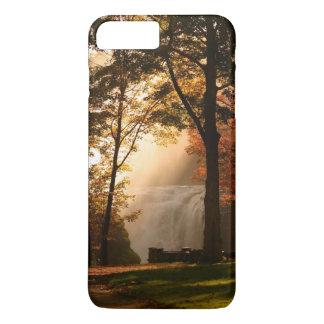 Coque iPhone 7 Plus Brume de cascade d'automnes