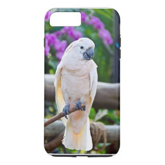 Coque iPhone 7 Plus Cacatoès blanc de parapluie