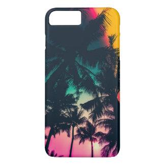 Coque iPhone 7 Plus Caisse colorée de téléphone de la silhouette | de