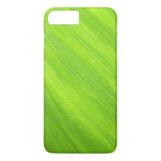 Coque iPhone 7 Plus Caisse verte élégante de téléphone de nature de