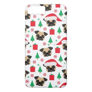 Coque iPhone 7 Plus Carlin mignon de Noël