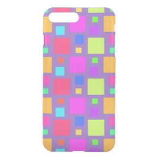 Coque iPhone 7 Plus Carrés multicolores 2011