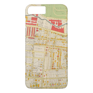 Coque iPhone 7 Plus Carte 2 d'atlas de Yonkers